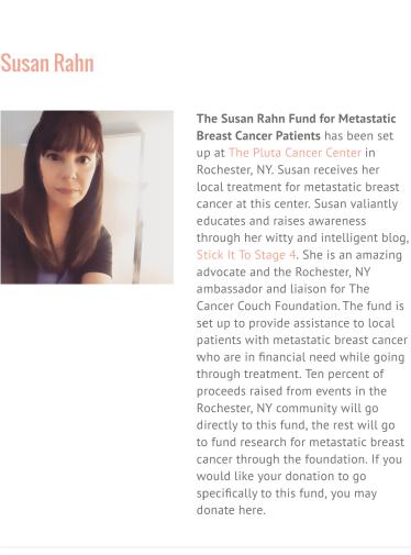 The Susan Rahn Fund